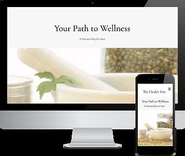 Wix Expert Studio Healer Site For Sale