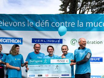 Defigena 2019 : 30 000€ de dons pour la recherche !