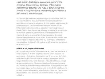 Le Télégramme du 21/04/2018
