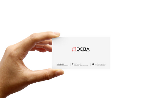 DCBA Business Cards