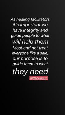 Healers integrity