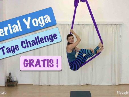 Aerial Yoga Videoserie by Flylightyoga