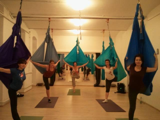 Aerial Yoga Open