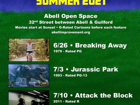 Abell Summer Movies return on Saturdays
