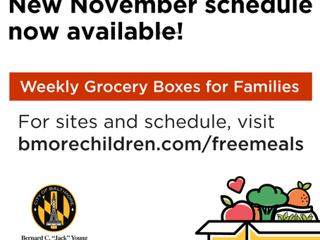 November Produce and Grocery Boxes