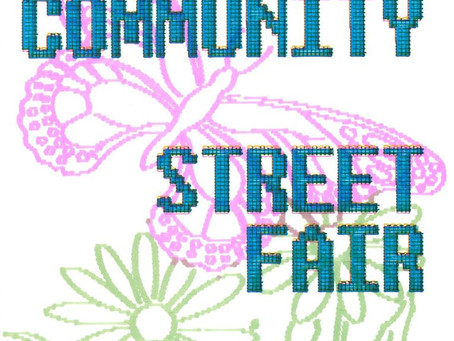 Street Fair 2021 in new location - Sunday, September 19