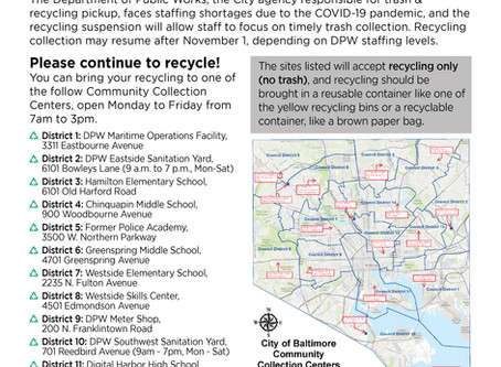 Recycling Collection Centers