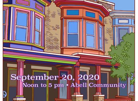 The 2020 Abell Community Street Fair is on Sunday, September 20