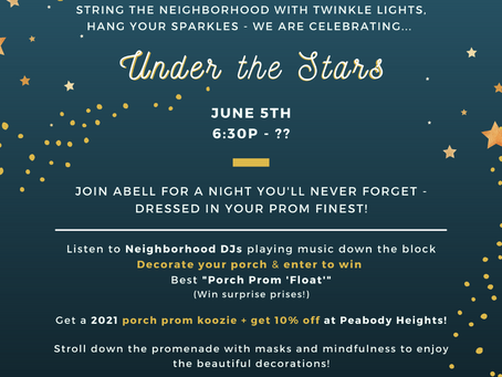 Porch Prom on June 5