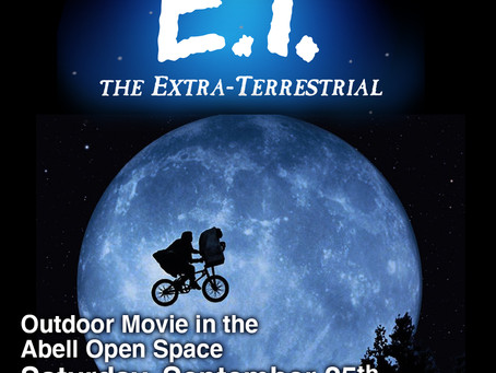 Outdoor Movies in the Abell Open Space