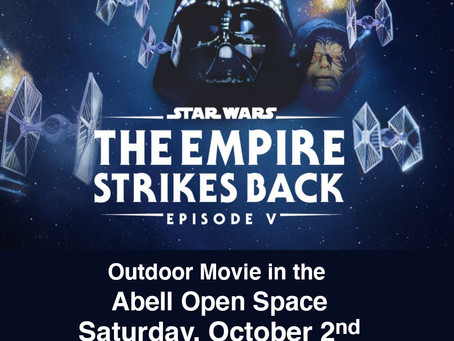 Free Outdoor Movies in the Abell Open Space