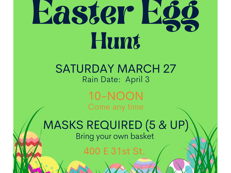 Easter Egg Hunt at St. Moses Church