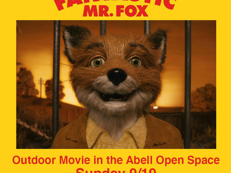 Abell Movies Fall Series to begin on Sunday, September 19