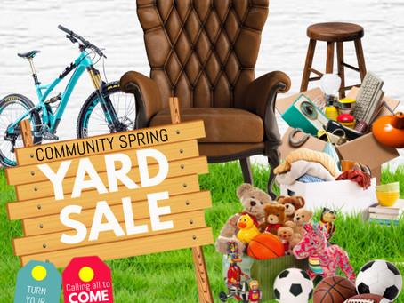 Community Yard Sale - May 15