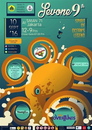 """Sevone 9th """"Spirit of Ocean's Legend"""""""