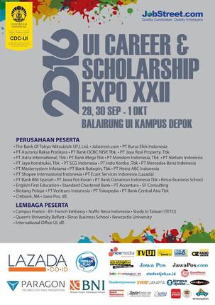 UI Career & Scholarship Expo XXII 2016