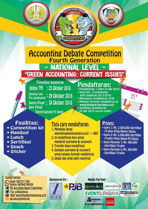 Accounting Debate Competition 4th Generation