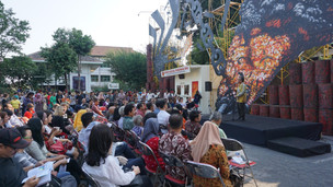 Upacara Pembukaan Biennale Jogja XIII