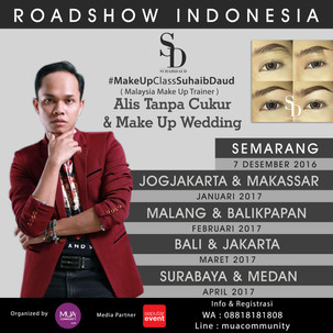 Suhaib Daud Roadshow Indonesia