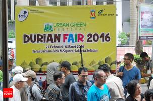 Semerbak Wangi Durian Mengiringi Durian Fair 2016