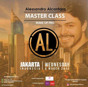 Alessandro Alcantara Master Class in Indonesia