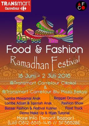 Food & Fashion Ramadhan Festival 2016