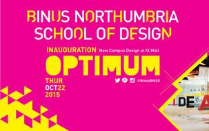 Launching Kampus Baru BINUS Northumbria School of Design
