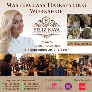 Masterclass Hairstyling with Yeliz Kaya