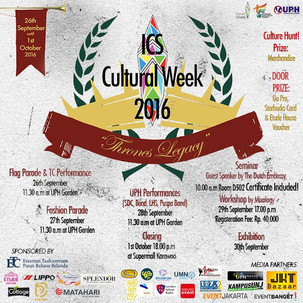ICS Cultural Week 2016