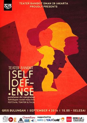 Teater Bangkit SMAN 28 Jakarta Presents Self Defense