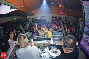 DJ HEDSPIN & DJ SHORTKUT Menyihir Lantai Dansa Domain