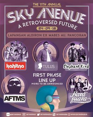 """The 11th Annual : Sky Avenue """"A Retroversed Future"""""""