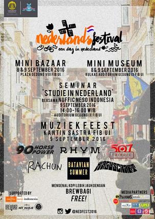 """Nederlands Festival """"One Day in Nederland"""""""