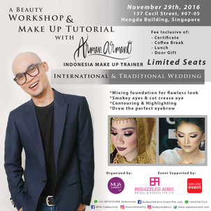 A Beauty Workshop & Make Up Tutorial with Arman Armano