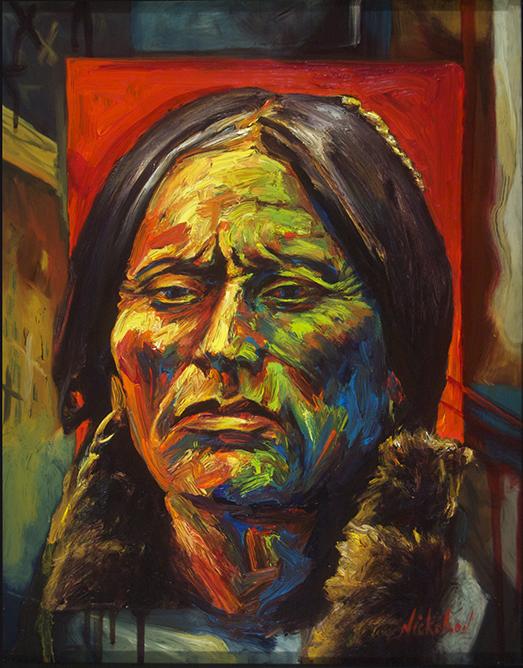 Quanah Parker #3[[SOLD]] [Comanche]