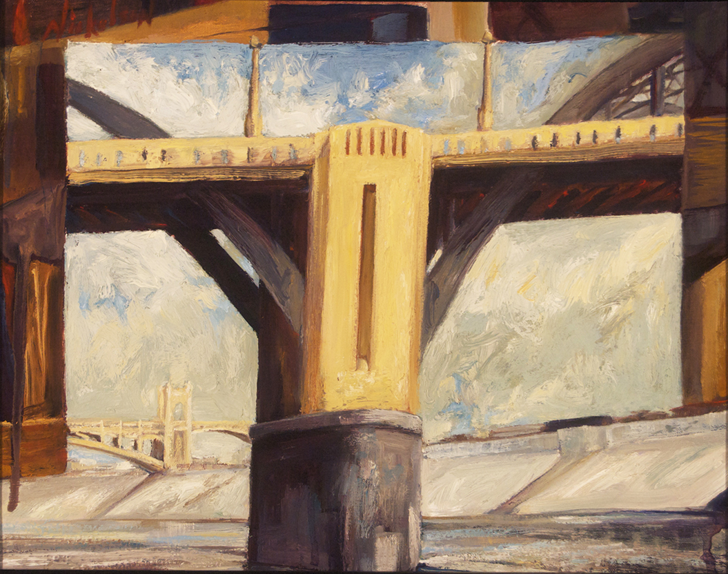 6th St Bridge at LA RIVER