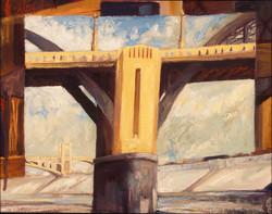 6th St Bridge at LA RIVER