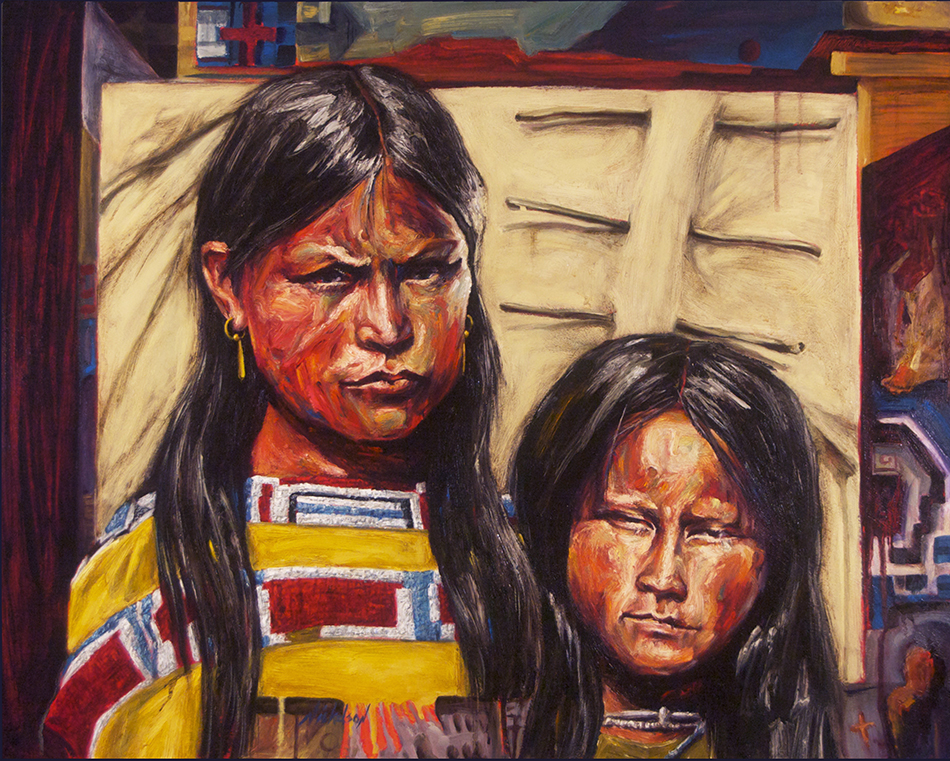 Parker Girls -Harry Nickelson Indian