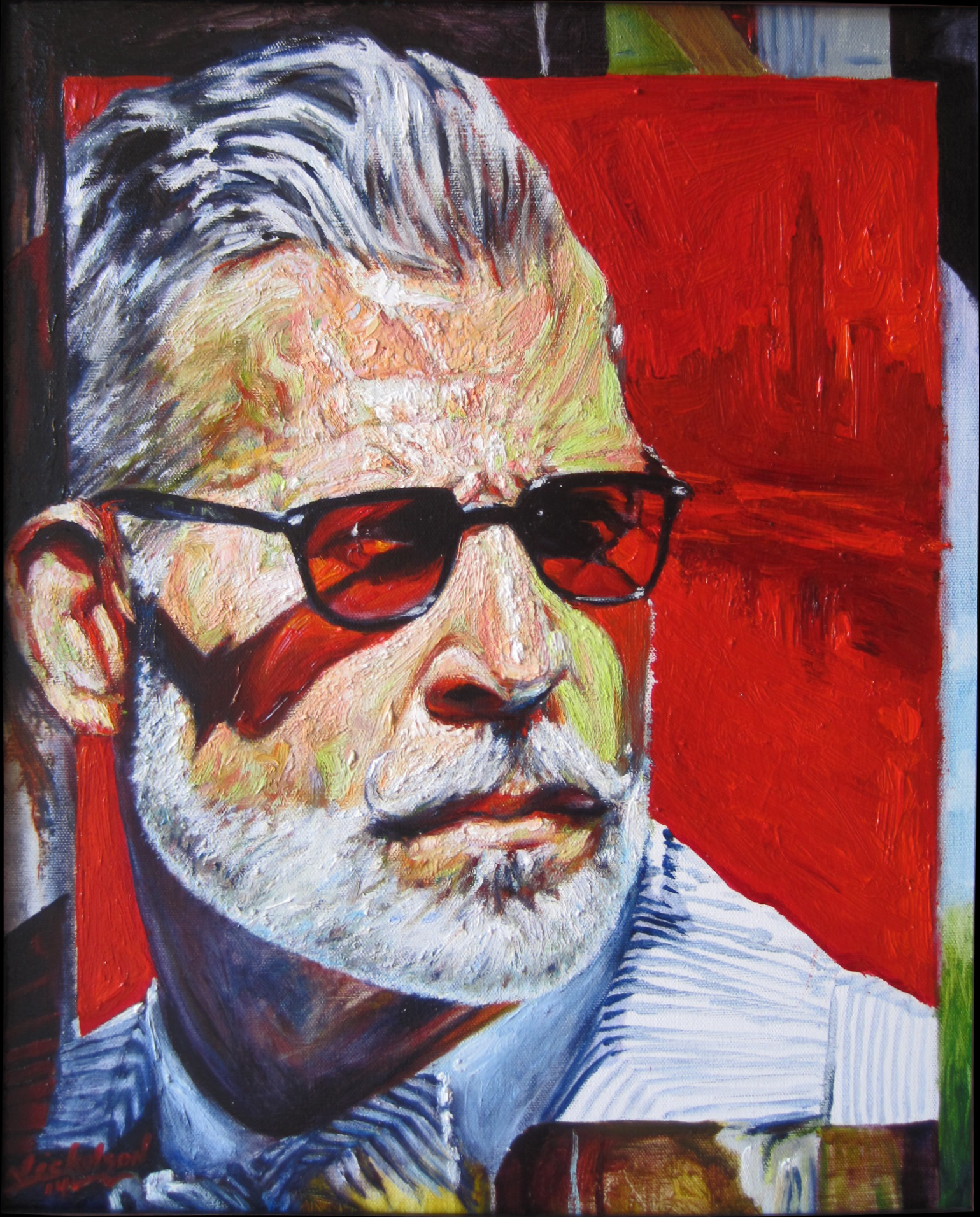 NICK WOOSTER -Harry Nickelson Indian