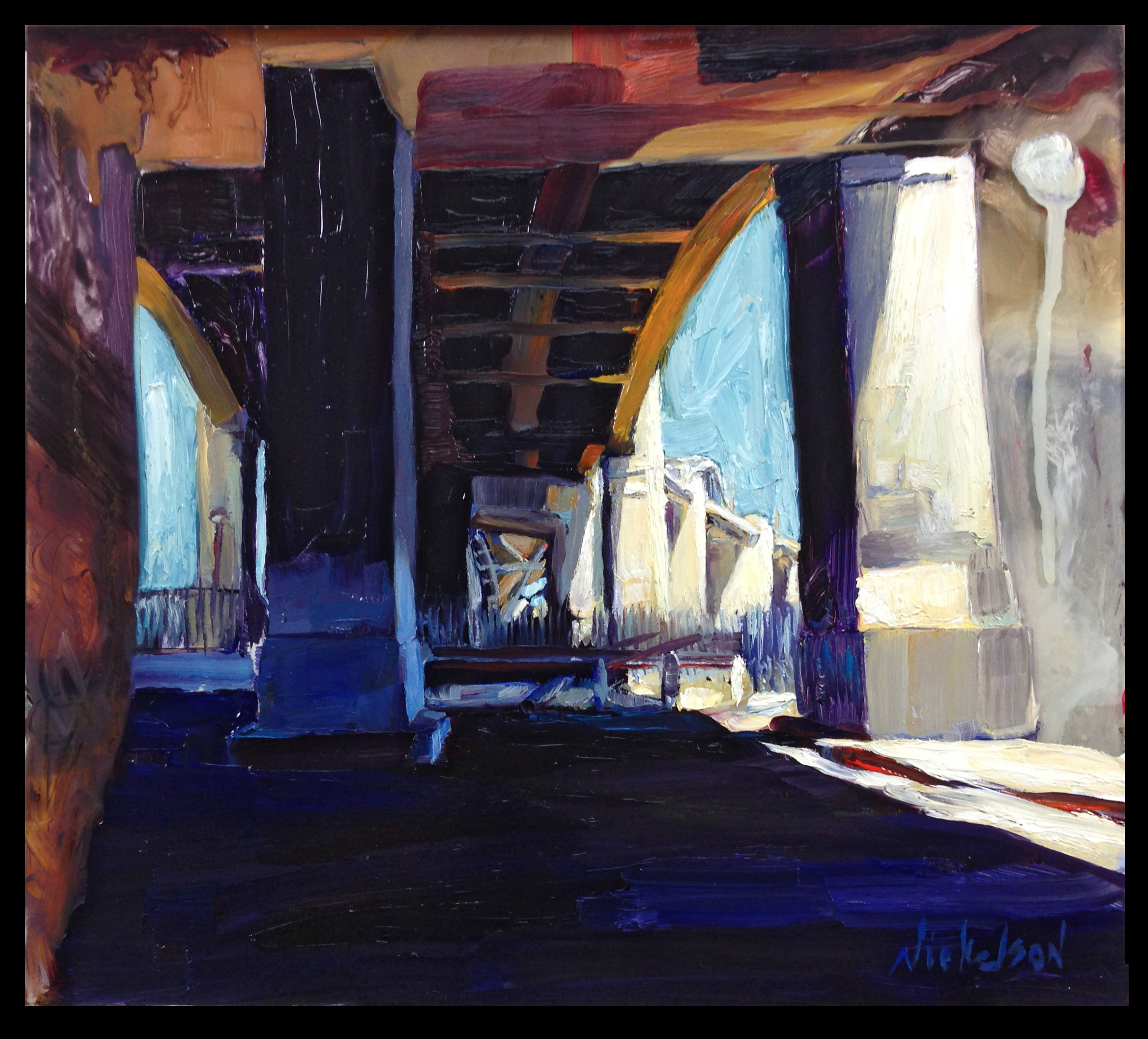Under the 6th Street Bridge {{SOLD}}