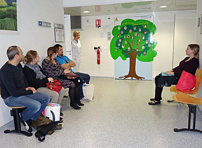Bienvenue à la maternité de l'Hôpital Schweitzer