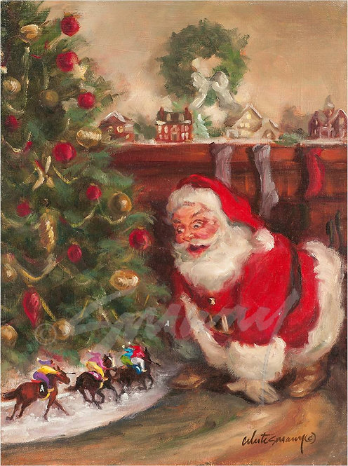 """Santa's Train-ing Track"""