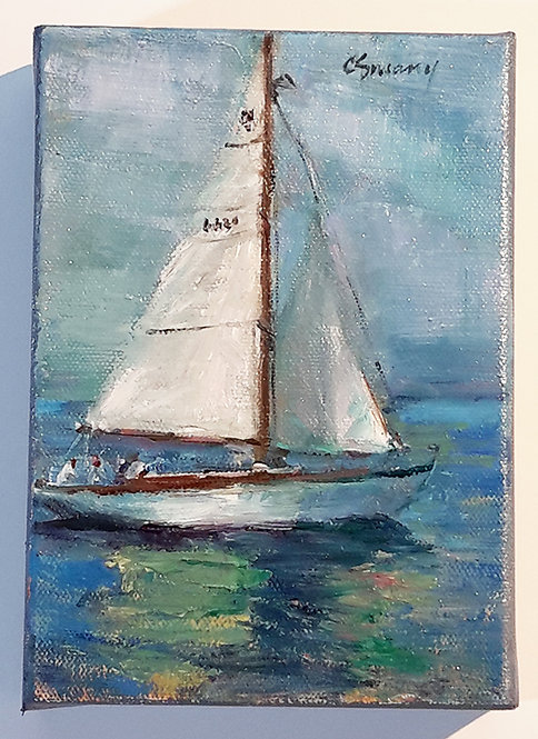 """Serene Sailors"" Original"