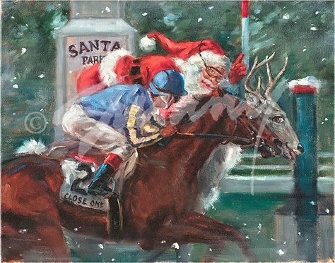 """Santa Park"" Holiday Cards"