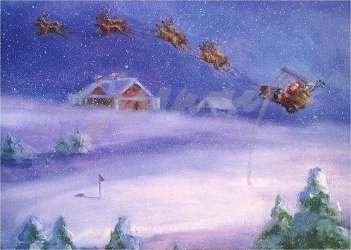 """Magical Flight"" Holiday Cards"