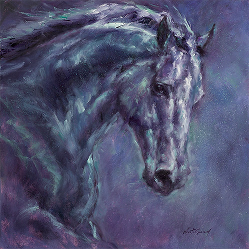 """Moonlight Blue"" Gallery Wrapped Giclee' on Canvas"