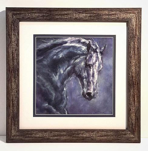 """""""Moonlight Blue"""" Framed Giclee' Print"""
