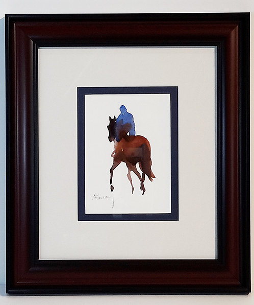 """Watercolor """"Silhouette"""" Giclee' Print"""