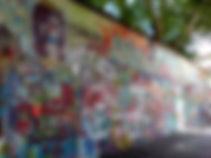 Muro de John Lennon en Praga