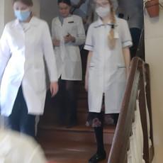 В техникуме состоялись учения по действиям студентов и сотрудников при пожаре